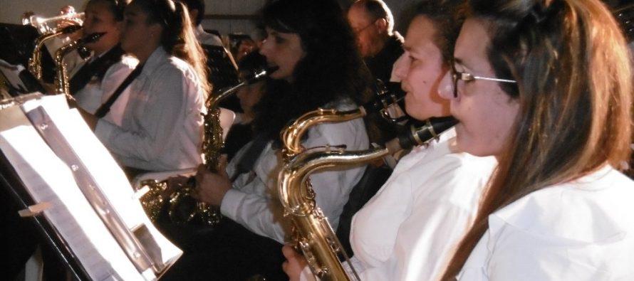 Concierto Sinfónico, tocando ando