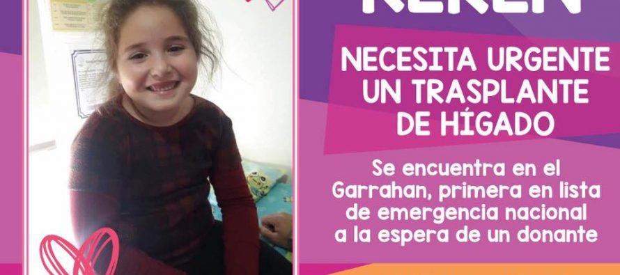 Aguardan evolución de la niña de Cintra transplantada