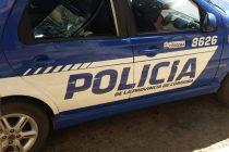 Un patrullero dañado, un  robo y distintos operativos durante el fin de semana