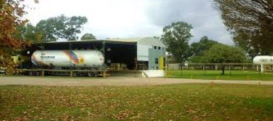 Violento robo en la planta de gas de la Cooperativa.