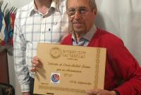 Aníbal Grosso: 50 años en el Rotary Club Las Varillas