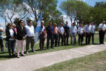 Inauguraron en el Paseo del Caminante una placa en honor a los Ex Combatientes de Malvinas
