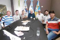 Chiocarello recibió a campeones de deportes mecánicos