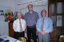 Ovidio Gallo y Luis Guerberoff, premios SATO del Rotary Club