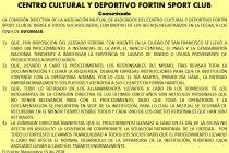 El CAYFA y la Mutual de El Fortín emitieron sendos comunicados sobre los allanamientos del jueves