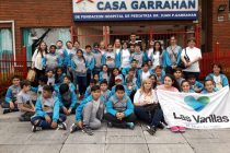 Alumnos de la Escuela José M. Paz entregaron 952 kilos de tapitas al Hospital Garraham