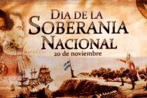 Conmemorarán el martes 20 el Día de la Soberanía Nacional