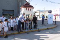 Inauguraron el Bibliokiosco frente a Plaza Independencia