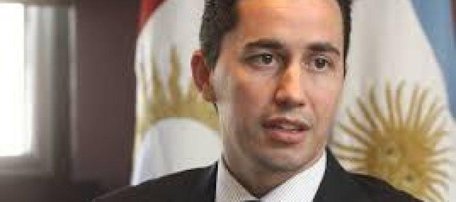 Manuel Calvo negó que aspire a una eventual precandidatura a vicegobernador