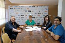 Firmaron importante convenio entre el CeCIP y la Sociedad Italiana