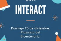 El Papá Noel del Interact estará el domingo en la Plazoleta del Bicentenario