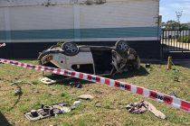 Accidente fatal en Pozo del Molle. Un muerto y cinco heridos, dos de ellos en estado delicado