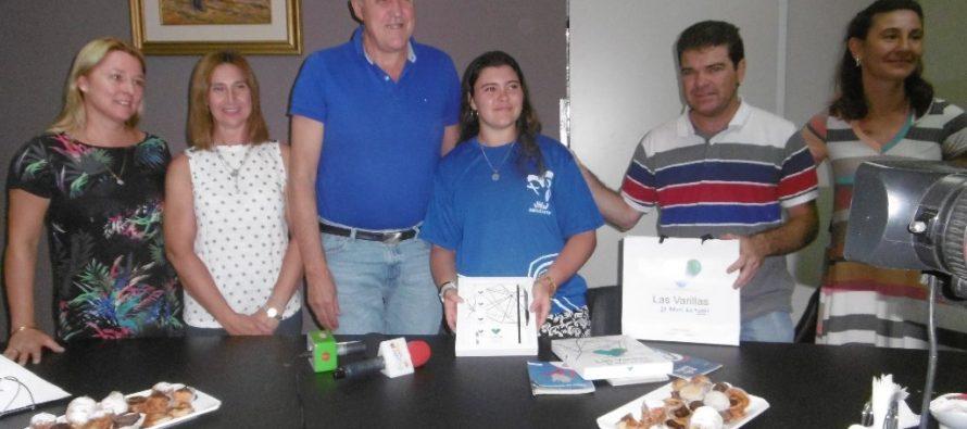 Agasajo  a joven varillense que estuvo en la Jornada Mundial de la Juventud en Panamá