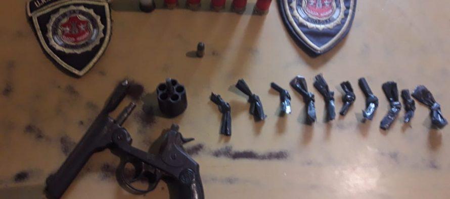Un detenido en Laspiur por tenencia de armas y estupefacientes