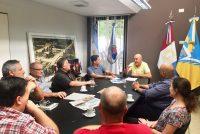 Chiocarello recibió a la nueva comisión del CeCIP