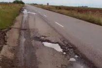 Vialidad Nacional informó que no hay fecha establecida para la repavimentación de la Ruta 158