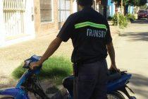 Se siguen incautando motocicletas a conductores en infracción.