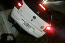 Trágico accidente en ingreso a Laspiur