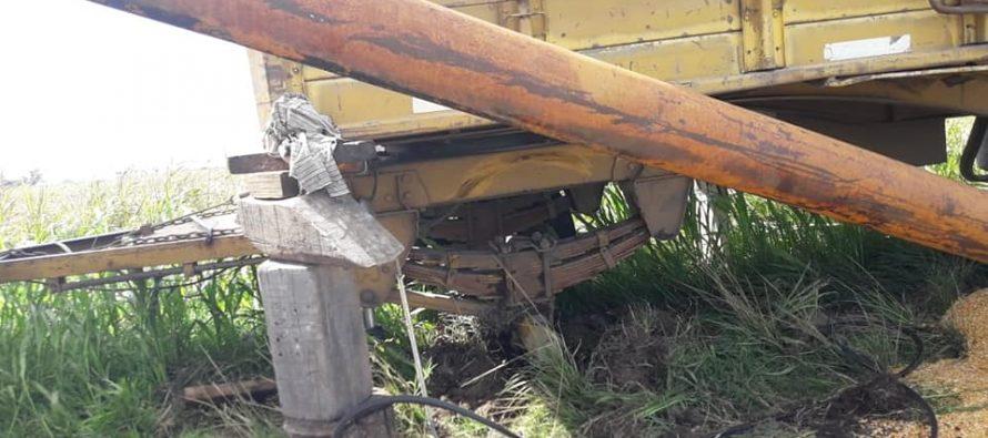 La Ruta 158 se cobra otro accidente… y ya van…