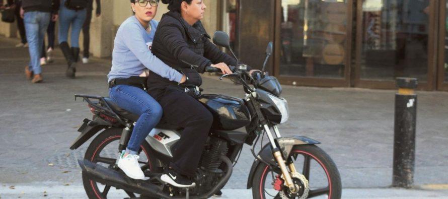 Circular en moto sin caso sigue siendo la infracción más común.