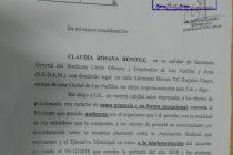 El Ministerio de Trabajo citó al Ejecutivo y al SUOEM a una audiencia en Córdoba para zanjar el diferendo  salarial