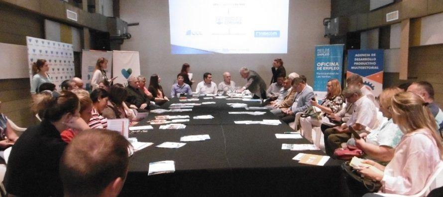 Reunión  de la Comisión de Sostenimiento del Empleo con   funcionarios provinciales y público