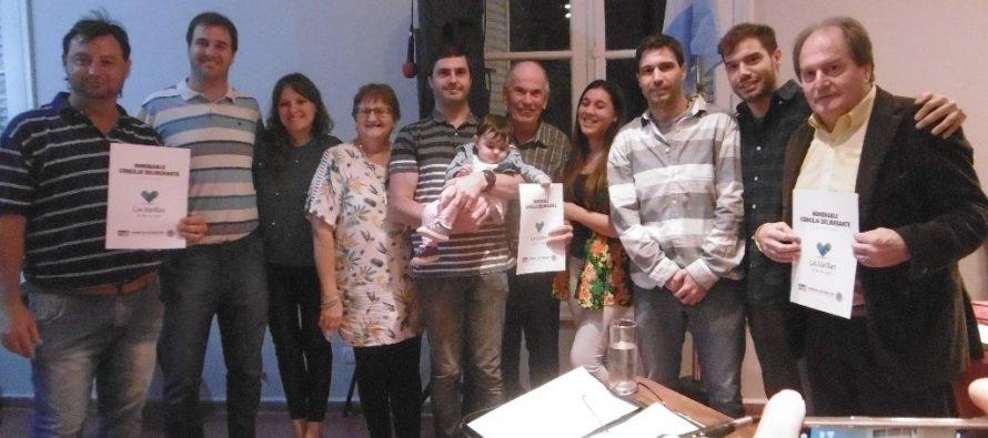Asumió nueva concejala y realizaron un reconocimiento a los hermanos Mainero