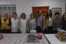 El Club de Leones entregó útiles escolares a escuelas primarias  de la ciudad