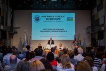 Discurso de apertura de sesiones del intendente Daniel Chiocarello