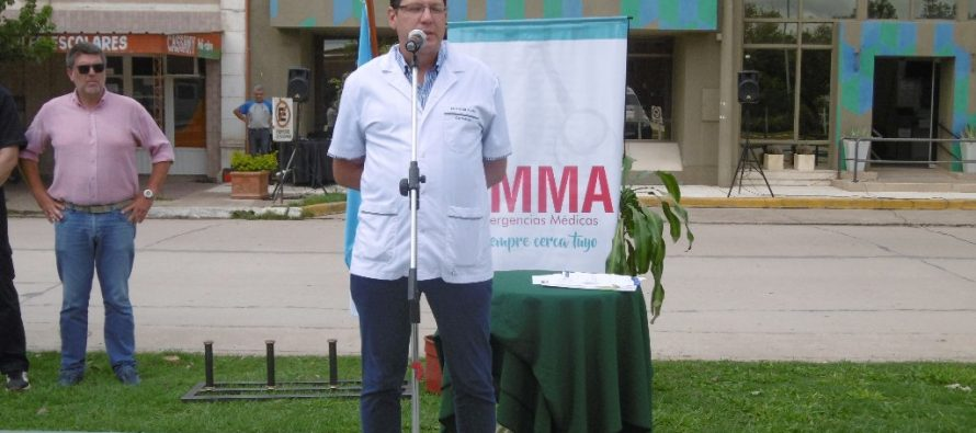 La Cooperativa presentó la nueva ambulancia de EMMA