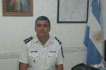 Por su ascenso, deja la Comisaría local Diego Rodríguez