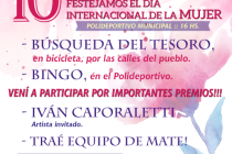 Celebrarán el domingo en Alicia  el Día Internacional de la Mujer con juegos y música