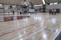 Presentaron nuevo piso flotante en el Polideportivo Almafuerte