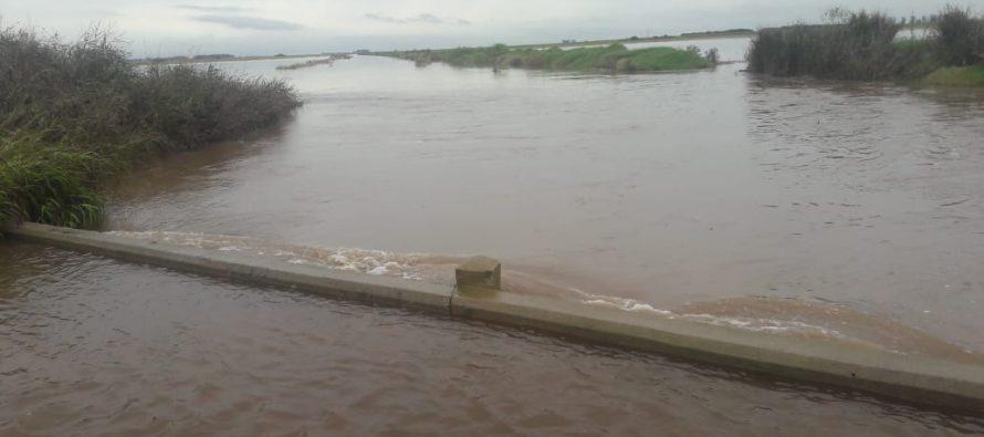 Inundaciones: situación en El Arañado y S M Laspiur