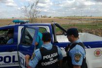 Un allanamiento con detenido en El Arañado y dos choques en Las Varillas