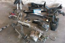 Recuperan moto robada e investigan un arrebato
