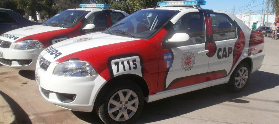 Policía:un detenido en Alicia  por hechos delictivos, un  robo y un choque