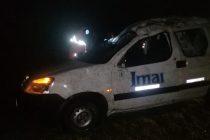 Un nuevo accidente en la Ruta 158 dejó una víctima con  serias lesiones