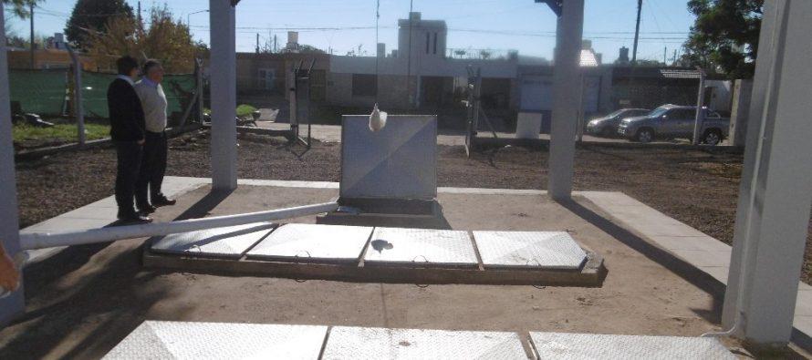El Ingeniero Diego González aseguró que la obra de cloacas ya está funcionando