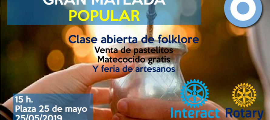 Mateada Popular del Rotary Club