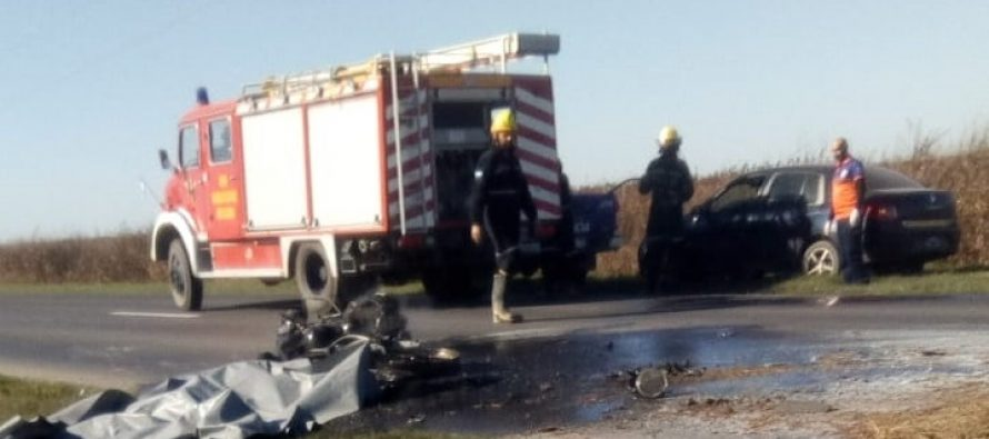 Murió conocido empresario de Villa María en un accidente sobre Ruta 158