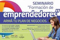 El DeCOL auspicia un Seminario de Formación de Emprendedores