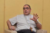 Monseñor Buenanueva expresó que hay que lograr una gran acuerdo nacional para salir de la crisis