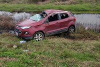 Se accidentó una mujer en  El Arañado. Heridas leves
