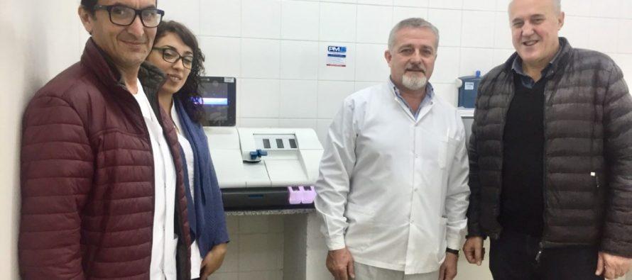 Nuevo equipamiento  para el Hospital  Dr Diego Montoya