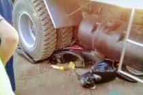Dos menores heridas al chocar contra un camión en El Arañado