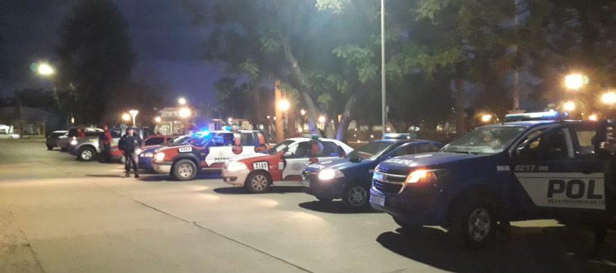 Gran despliegue policial de prevención en Las Varillas. Numerosos hechos registrados en nuestra ciudad y la región