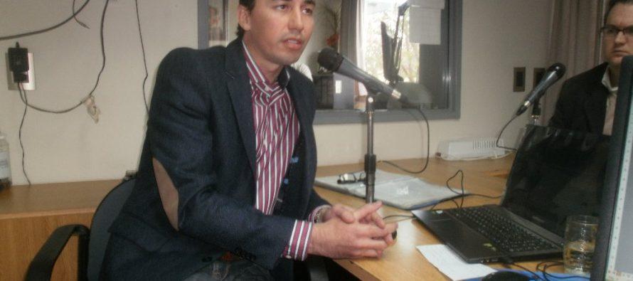 Calvo eludió preguntas sobre las elecciones de septiembre en Las Varillas
