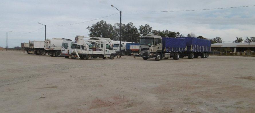 Inauguraron la Playa de Camiones. Comenzará a funcionar en octubre