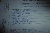 Candidatos de Hacemos por Córdoba para las elecciones del 15 de setiembre